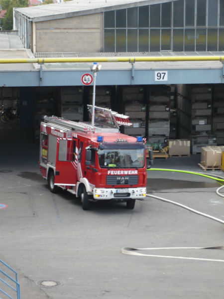 Hauptübung in Bietigheim-Bissingen