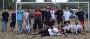 Fußballspiel der Jugendfeuerwehr