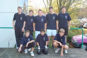 Jugendfeuerwehr Ingersheim beim 4. Freiberger Jugendfeuerwehrfußballturnier