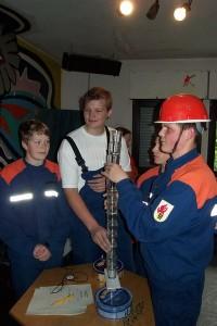 Kreispokalturnier 2004 – Jugendfeuerwehr Ingersheim dem Sieger dicht auf den Fersen