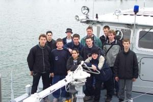 Jugendfeuerwehr Ingersheim zu Gast bei der Feuerwehr Friedrichshafen
