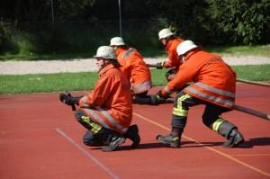 Hartes Training für die Sicherheit der Ingersheimer Bürger