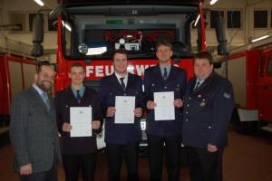 Hauptversammlung der Feuerwehr