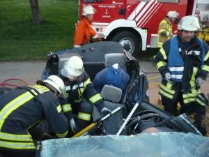 Gemeinsame Übung mit der Feuerwehr Bietigheim-Bissingen